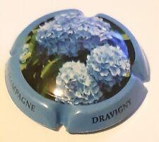 DRAVIGNY Brigitte, fleurs Série de 6  capsules de Champagne