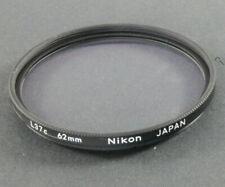 Nikon 62mm L37c UV Filter in Excellent Cond.