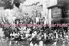 SX 240 - St Martins Sunday School Procession, Lewes Road, Brighton, Sussex 1907