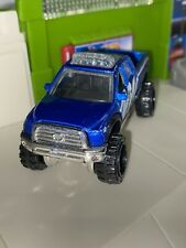 Hot Wheels '10 Toyota Tundra Blue Off-Road 1:64 Scale