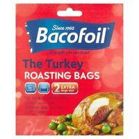 New Bacofoil Turkey Roasting Bag Bags Pk 2 Large Size 45cm x 55cm