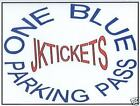 BLUE HOUSTON TEXANS SEASON PARKING PASS TICKETS for 2021 Remaining Home 7 Games
