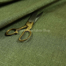10 Meters Of New Soft Textured Boucle Weave Green Chenille Upholstery Fabrics