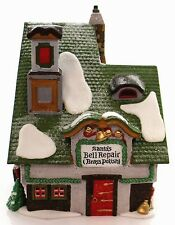 SANTA'S BELL REPAIR #56389 RETIRED NORTH POLE DEPT 56