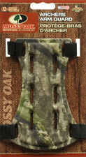 """Mossy Oak 6.5"""" Camo Archer Armguard Arm Guard Protector Shooting Compound Bow"""