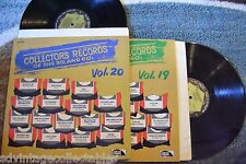 COLLECTOR'S RECORDS Of The 50s & 60s VOL.19 & 20 Doo Wop Surf RECORD LP NM
