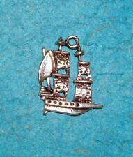 Pendant Sail Boat Charm Nautical Charms Sailing Pirate Ship Charm Sailing Charm