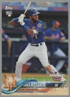 2018 TOPPS OPENING DAY #70 AMED ROSARIO – ROOKIE CARD