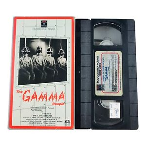 The Gamma People (VHS, 1986) RCA Columbia Pictures Black & White Not Rated