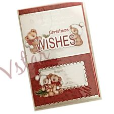 LUXURY CHRISTMAS GREETING CARDS FOR DAUGHTER & SON-IN-LAW (PREMIUM QUALITY)