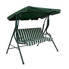 NEW Swinging Garden Hammock Swing Chair, Outdoor Bench Seat Seater Lounger Set
