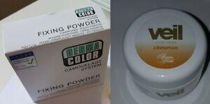 DERMACOLOR  DERMA COLOR CAMOUFLAGE CREAM - Cinnamon Fixing Powder Cover Cream