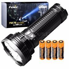 Fenix TK75 2018 5100 Lumen Flashlight w/ 4x 2600mAh 18650 Rechargeable Batteries