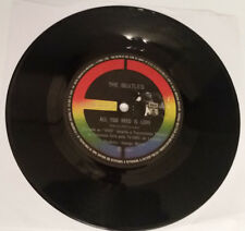 """The Beatles Brazil 7"""" All You Need Is Love / Baby You're A Rich Man 31C00604476Y"""