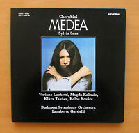 SLPX 11904-06 Cherubini Medea Sylvia Sass Gardelli 3xLP STEREO Hungaroton NM/EX