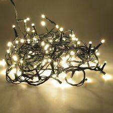 Guirnalda 120 luces  LED color blanco cálido con funciones