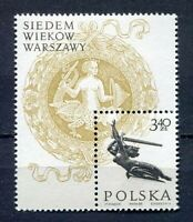 36081) Poland 1965 MNH 700th Anniversary Of Warsaw S/S