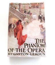 The Phantom Of The Opera, by Gaston Leroux - 1911 - 1st Ed., Antique H/C Book