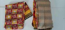 Brand New Red Multi Color Synthetic Sari / Saree