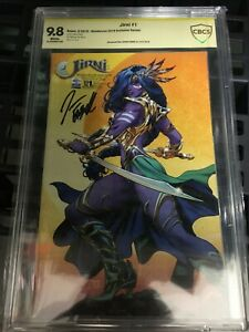Jirni Vol 3 #1 - Jason Fabok Signed Wondercon Anaheim 1/200 Variant CBCS 9.8