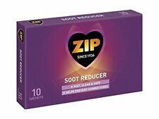 New Zip Chimney & Flue Cleaner Fires Stove Soot Reducer 10 Sachets