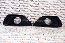 GENUINE Vauxhall ASTRA J GTC - PAIR OF FRONT BUMPER FOG SURROUNDS / GRILLES -NEW