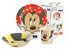Minnie Kinderservice 3teilig Hartglas  OpalGlas Walt Disney Arc