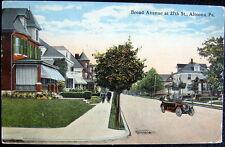 ALTOONA PA ~ 1917 BROAD AVENUE AT 27th STREET ~ Residences ~ Homes ~ Auto