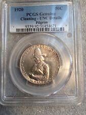 1920 Pilgrim Silver Commemorative Half Dollar 50¢- PCGS Certified