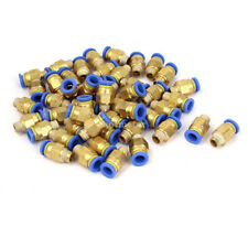 50 Pcs 1/8BSP Male Threaded Straight Push in Quick Connect Fitting 8mm OD Tube