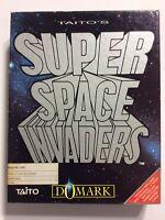 Commodore AMIGA  Super Space Invaders Taito's Domark 2 Game Disks Instruction
