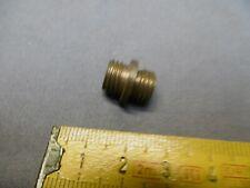 1 raccord jonction en laiton à vis de blocage pas standard 10 x 1 mm réf A