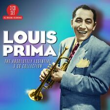Louis Prima ABSOLUTELY ESSENTIAL COLLECTION Best Of 60 Songs NEW SEALED 3 CD