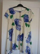 PHASE EIGHT LILYMAE IVORY BLUE GREEN FLORAL TOP. UK 10, EUR 36-38 US 6. BNWT