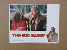 The Big Sleep Movie Poster Lobby Card #4 1978 Original 11x14 Robert Mitchum