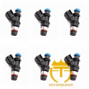 6PCS Fuel Injectors 12573427 Fits Buick LaCrosse Lucerne Pontiac Grand Prix