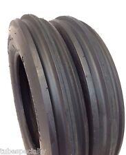 550X16,550-16,5.50X16 Minneapolis-Moline Jet 6 Ply 3 Rib Tractor Tires w/Tubes