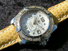 BREITLING COCKPIT LADY D71356 STAHL GOLD WITH DIAMONDS