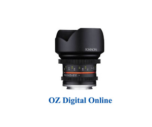 New Samyang 12mm T2.2 Cine NCS CS (Samsung NX) Lens 1 Year Au Warranty