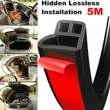5M L Shape Seal Strip Car Door Hood Trunk Trim Edge Moulding Rubber Weatherstrip