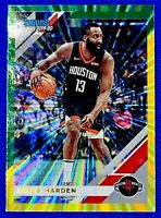 2019 Panini Donruss Basketball James Harden Green Laser Insert #76