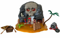 Playmobil 5804 Take Along Pirate Skull Island Play Set + Accessories