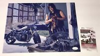NORMAN REEDUS Signed DARYL DIXON 11x14 Photo Autograph WALKING DEAD JSA COA