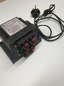 EX Pub SDEL 6-way 24V Bar Pump Light Transformer High Quality Fused 240V UKMAINS