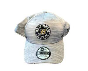NWT New Baltimore Ravens New Era 39Thirty Sideline Size L/XL Flex-Fit Hat