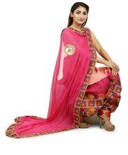 Ready to wear Phulkari Suit with Kurti size 42 Phulkari Dupatta & Patiala Salwar