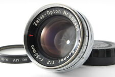 【EXC5】Contax Zeiss Opton 50mm F2 Sonnar T* Contax mount Lens Free ship Japan 785