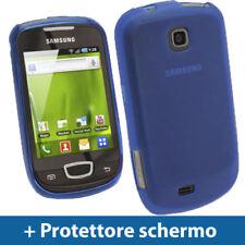 Cover e custodie Blu Per Samsung Galaxy S in pelle sintetica per cellulari e palmari