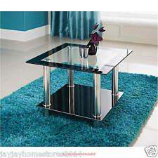 Phoenix Lampada da tavolo elegante in vetro e finitura cromata