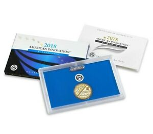 INTRODUCTORY AMERICAN INNOVATION 2018 $1 PROOF COIN US MINT S 18GA FIRST ISSUE